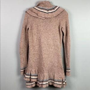 Anthropologie Sweaters - Anthro Sparrow Ruffled Open Cardigan  XS